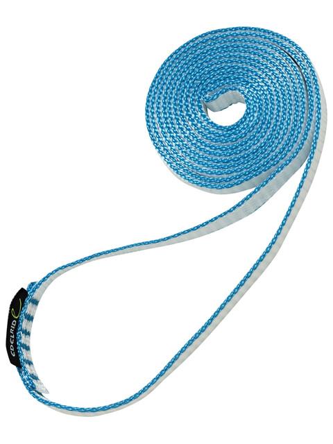 Edelrid Dyneema - 11mm 120cm bleu/blanc